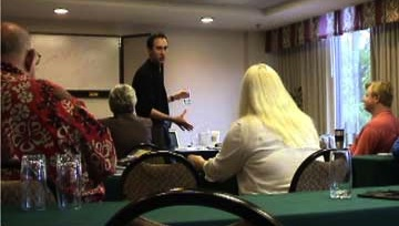 NLP Training Day With Hypnosis Schools Students And Weight Loss Clients